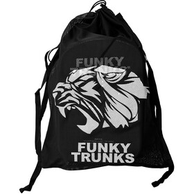 Funky Trunks Mesh Gear Bag - Bolsa Hombre - negro